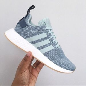 f86d760ba7d77 adidas Shoes - Adidas NMD  R2 Ash Green Raw Steel Women s Shoes